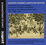 Gregorian Chant: Cantate Domino Canticum Novum