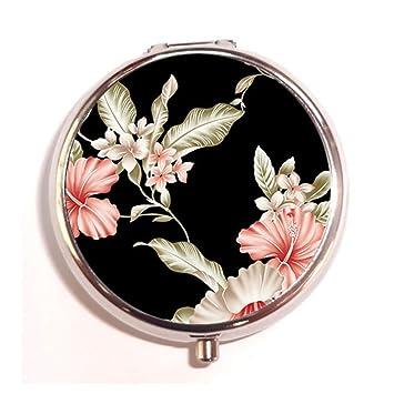 Amazon.com: Flores Diseño personalizado Nueva Ronda de plata ...