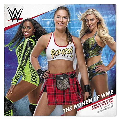 2020 Women of WWE Wrestling Wall Calendar (DDW0752820)