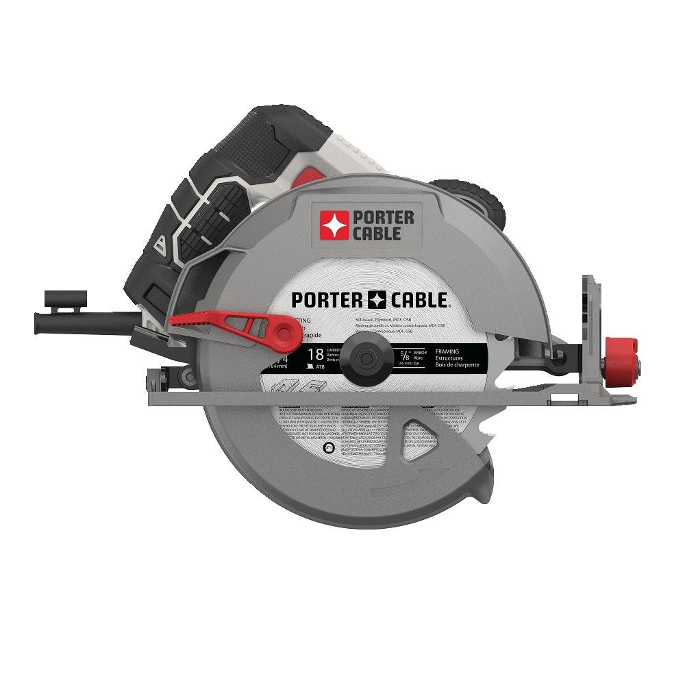 Porter cable pce310 15 amp 7 14 heavy duty magnesium shoe circular porter cable pce310 15 amp 7 14 heavy duty magnesium shoe circular saw amazon greentooth Choice Image