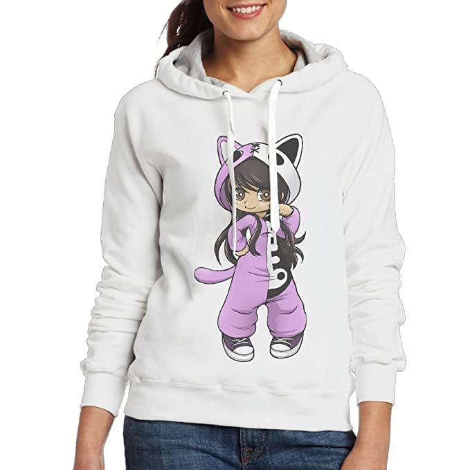 Jess from Aphmau Gaming Women Leisure Hoodie White L: Amazon