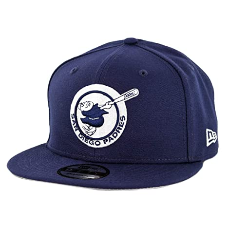 sports shoes 0ed60 49066 Image Unavailable. Image not available for. Color  New Era 950 San Diego  Padres Logo Pack ALT Snapback Hat (Light Navy) MLB