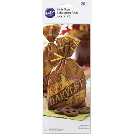 Wilton Fall Treat Bags, 20-Count