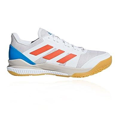 low priced 2dc54 918fc adidas Stabil Bounce, Chaussures de Handball Homme, Blanc  (Ftwbla Rojsol Azubri