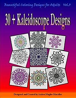 Beautiful Coloring Designs Adults Kaleidoscope ebook product image