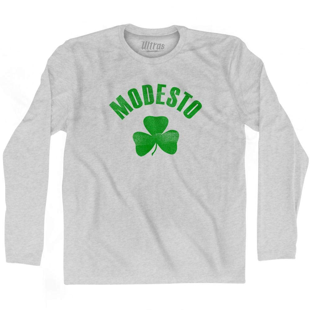 Ultras Modesto City Shamrock Cotton Long Sleeve T-Shirt