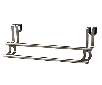 Amazon.com: Spectrum Diversified Towel Bar, Over The Cabinet Door, Brushed  Nickel: Home U0026 Kitchen