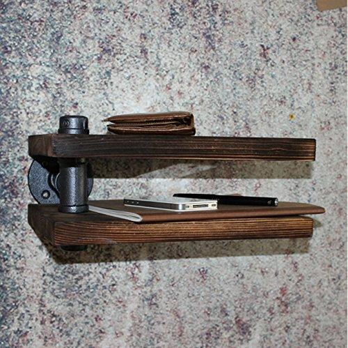 Vintage American Land Solide Holz Doppelt Loft Stil Eisen