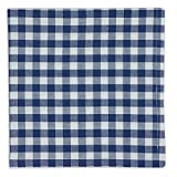 Heart of America Blue Farm Check Napkin - 6 Pieces