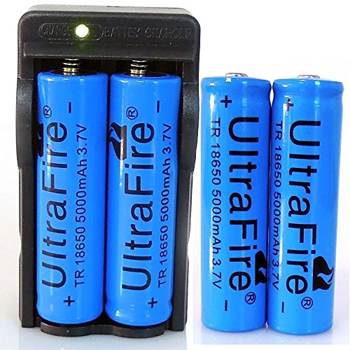 Shensee 4pcs Functional 3 7v 5000mah 18650 Battery Li Ion