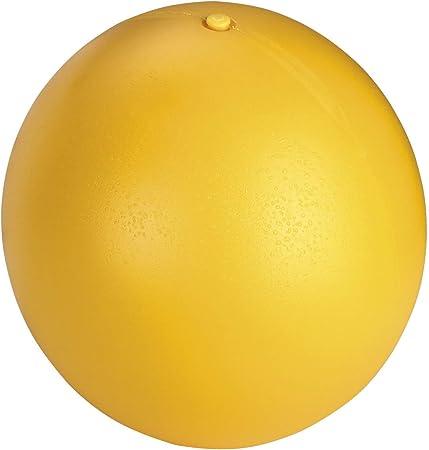 Pelota para perros Ø 30 cm, amarillo, de plástico: Amazon.es ...