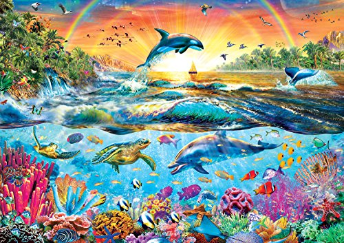 Buffalo Games - Amazing Nature Collection - Tropical Paradise - 500 Piece Jigsaw Puzzle by Buffalo Games
