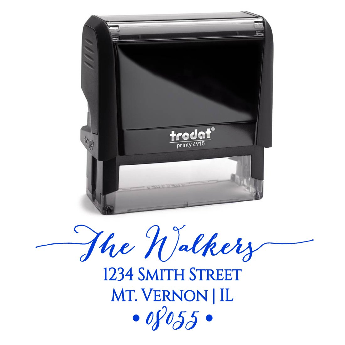 Amazon.com : Personalized Self Inking Stamp - Return Address Stamp ...