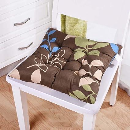 Conjunto De 4 100% algodón Asiento, Creatividad Cojines para sillas ...