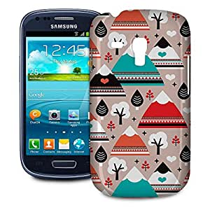 Phone Case For Samsung Galaxy S3 Mini - South Western Mountain Ranges Snap-On Wrap-Around