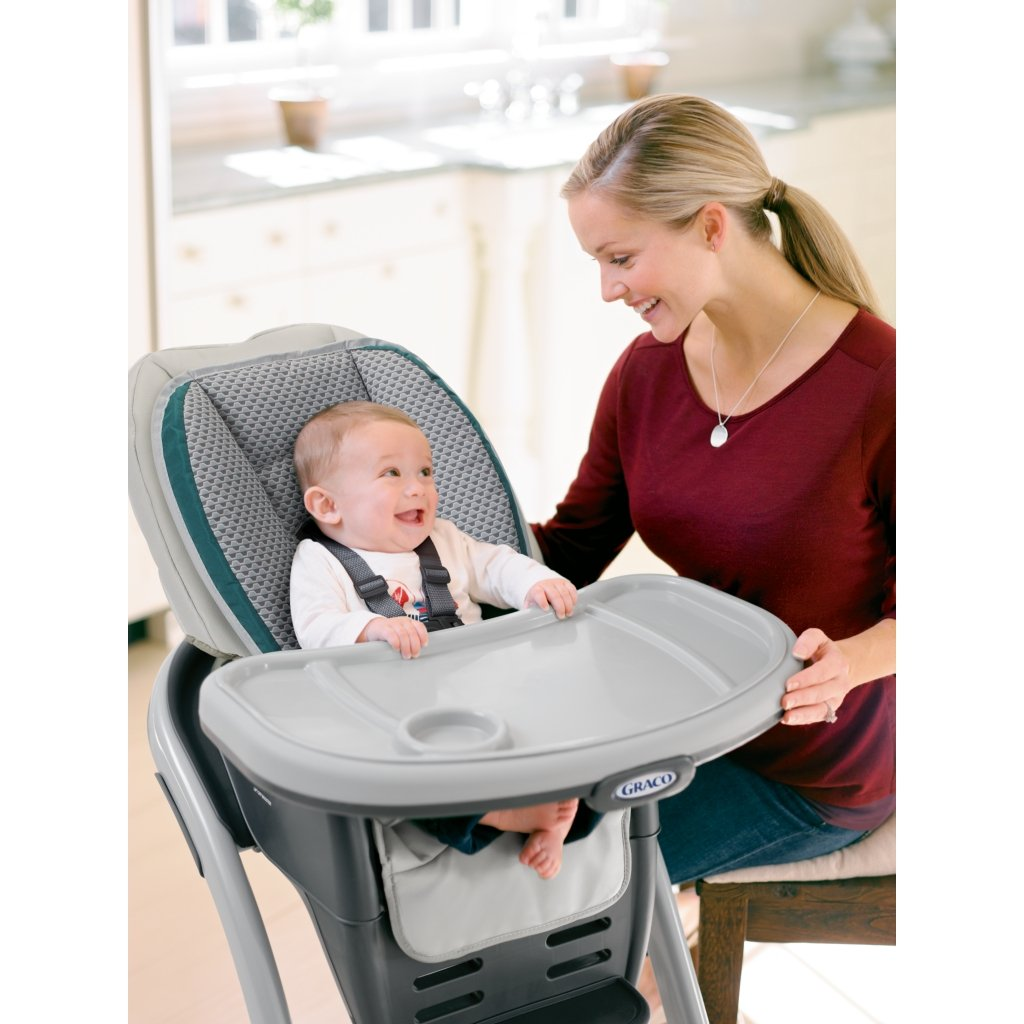 Graco Blossom 4-in-1 Convertible High Chair Seating System, Sapphire by Graco (Image #4)