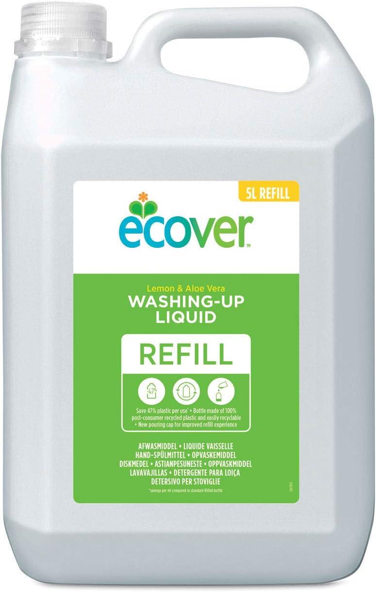 Ecover 4003317 - Detergente liquido para lavavajillas con limón y ...