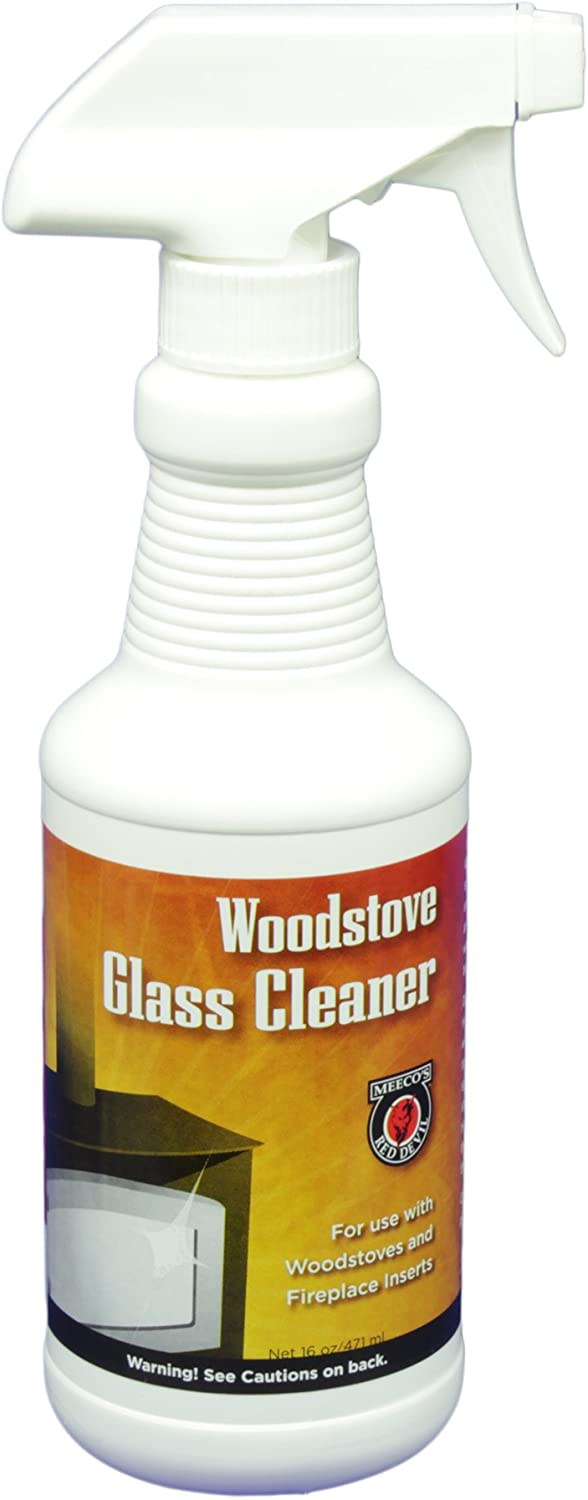 MEECO'S RED DEVIL 701 Woodstove Glass Cleaner (16oz)