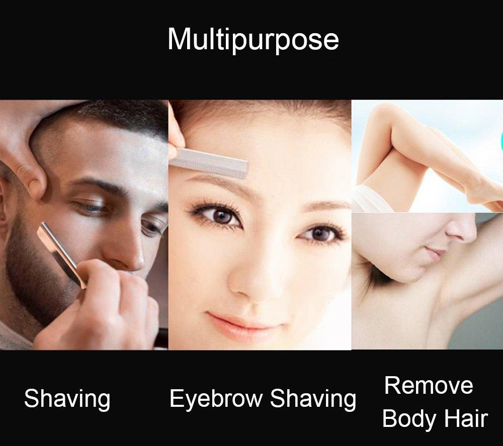 Amazon Professional Folding Shaver Eyebrow Shaping Razor Bear