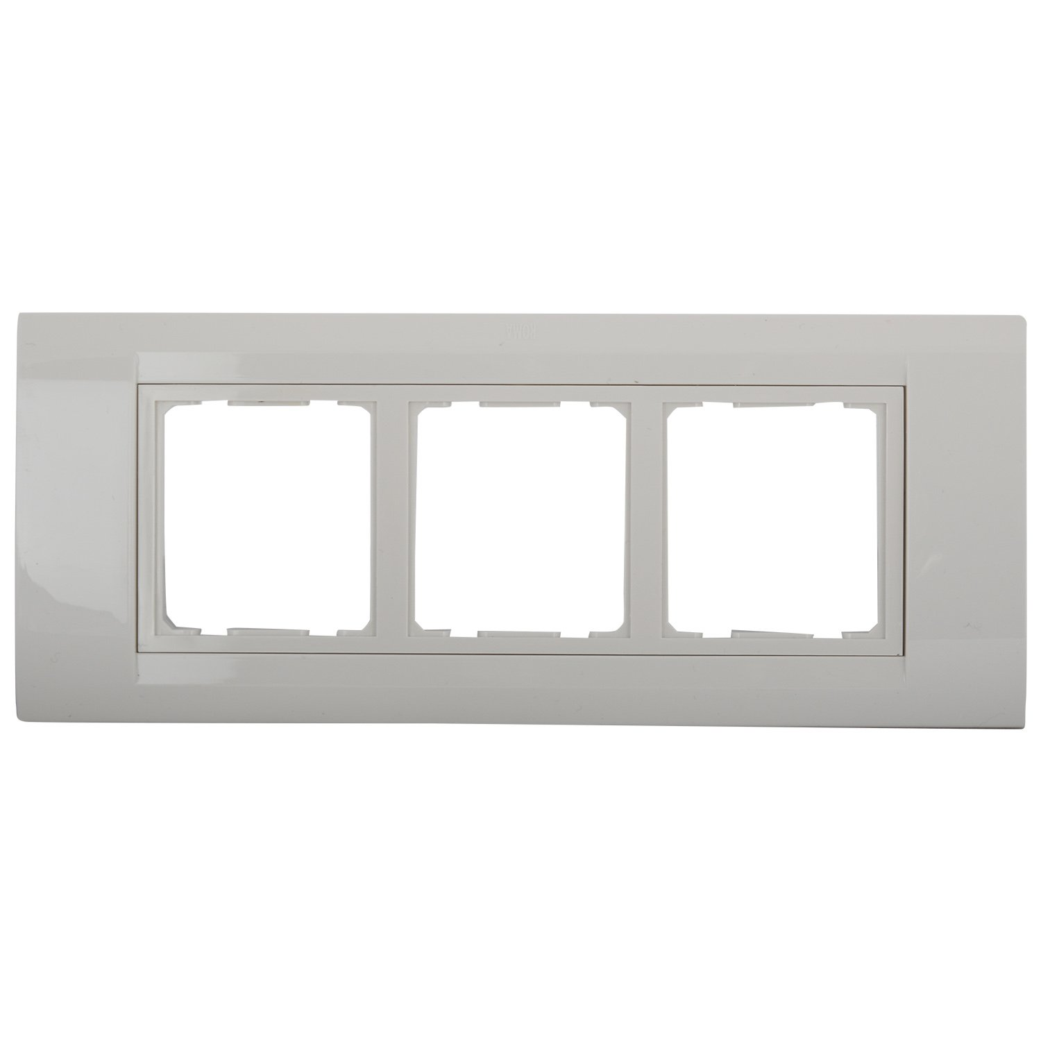 Wall Plates Online Buy In India Best Prices Wiring An Outlet Switch Combo Anchor Roma 6 Module Tresa Plate White