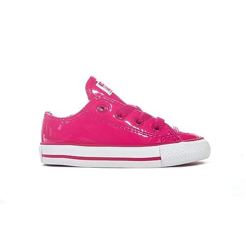 zapatillas lona niña converse rosa