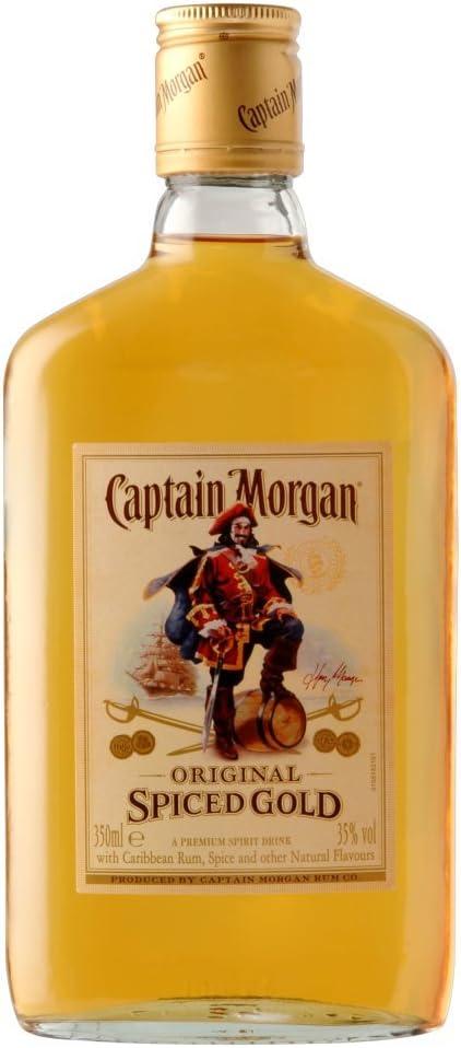 Captain Morgan Original Spiced Gold Ron - 3 Unidades: Amazon ...