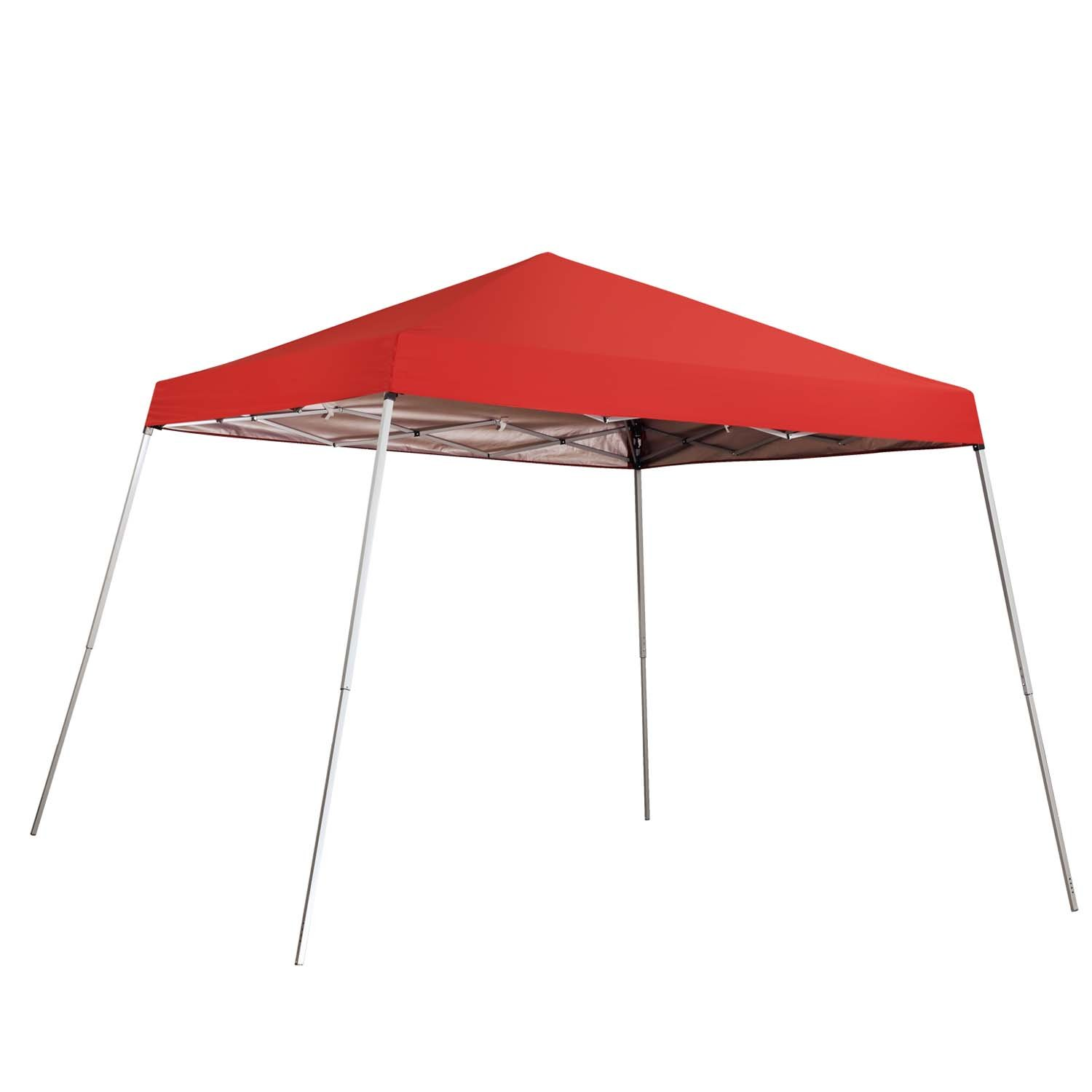 225 & Outdoor Basic 8 x 8 Ft Canopies 10x 10 Ft Base Slant Legs Pop up Canopy Tent for Camping Party