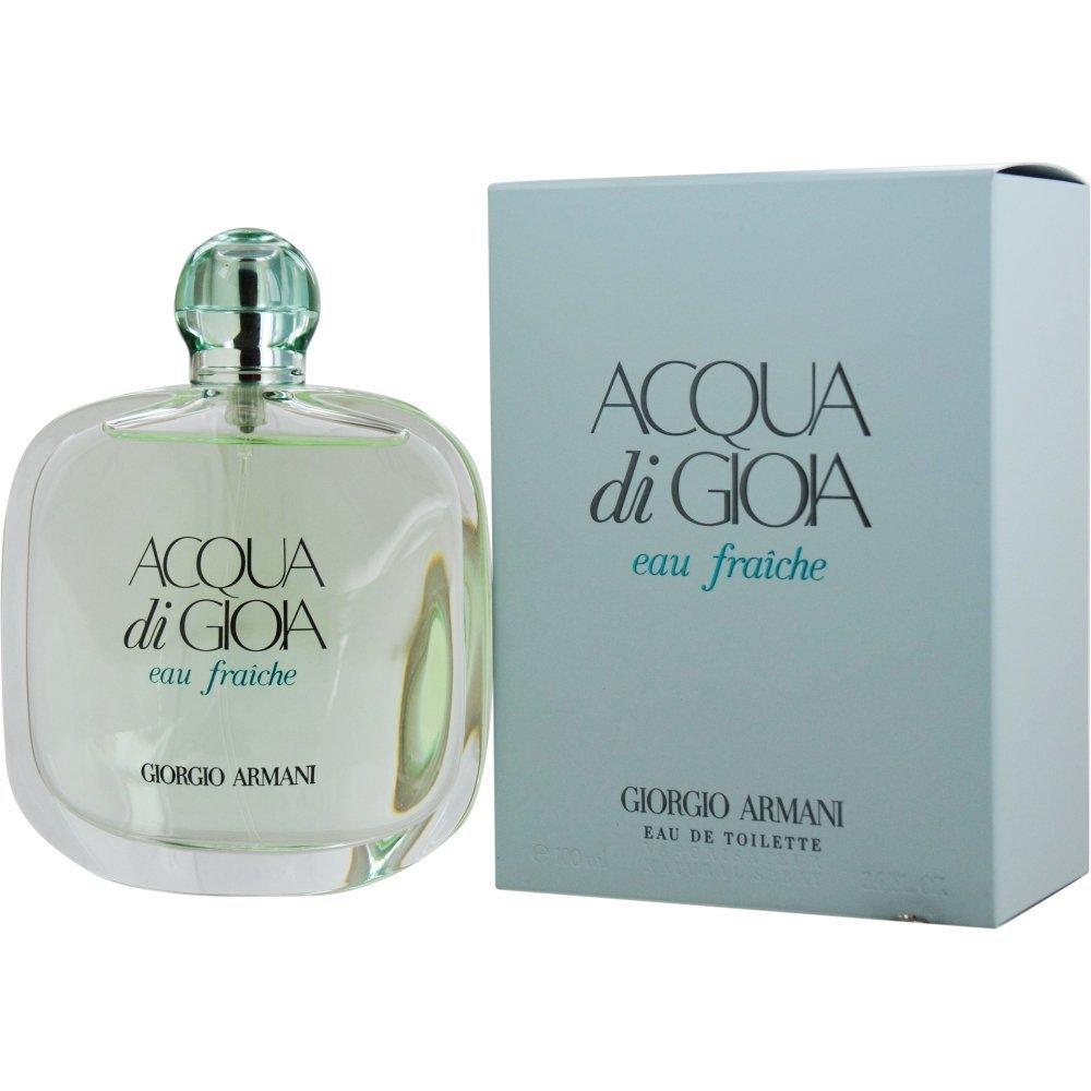 Giorgio Armani Acqua Di Gioia Eau Fraiche for Women EDT Spray, 3.4 Ounce GAL40924 3605521739629 sku_-100 ml