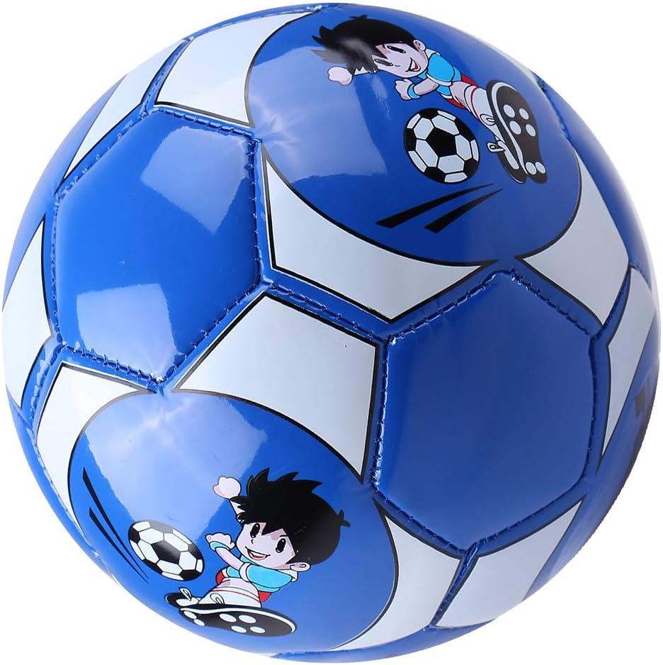 CUTICATE Pelota de Fútbol Tamaño 2 Balón de Cuero Entrenador ...