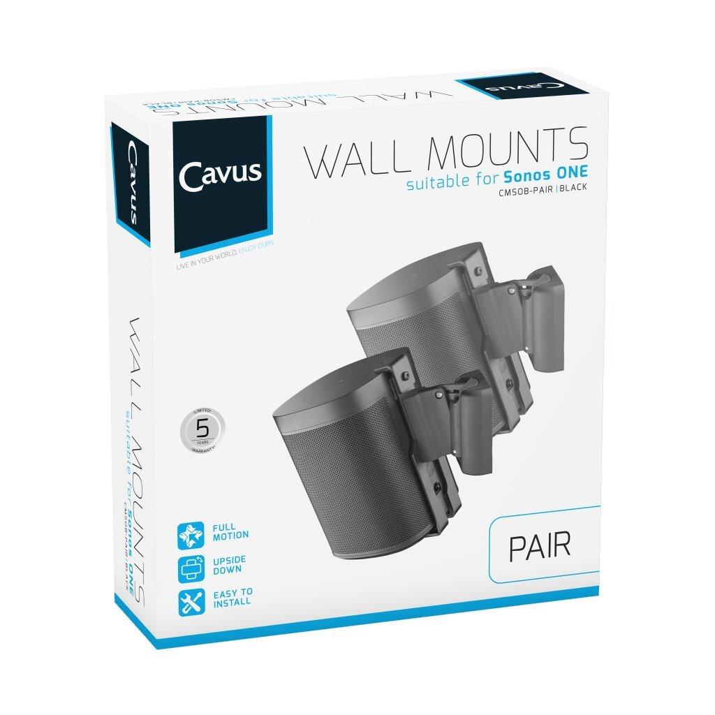 Cavus Wandhalterung für Sonos Sonos Sonos ONE - Schwenk- und neigbar Wandhalterung Sonos ONE 9b782d