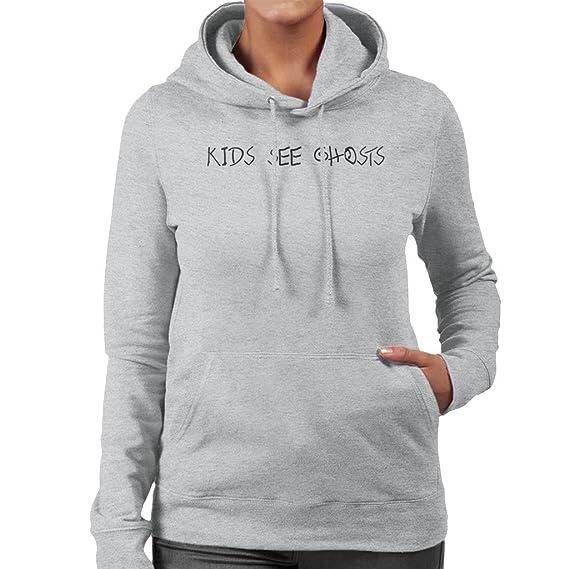 Coto7 Kids See Ghosts Womens Hooded Sweatshirt Amazonfr