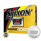 Srixon Z-Star Personalized Golf Balls - Add Your Own Text (12 Dozen) - Yellow