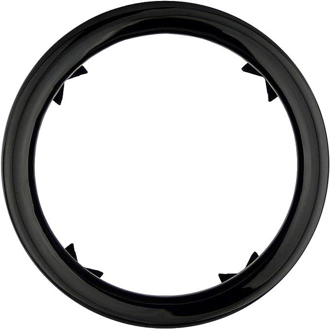 L P A305 1 Auspuffblende Edelstahl 76mm Schwarz Poliert Black Chrom Plug Play Endrohrblenden Endrohrblende Auspuff Blende Endrohre Vergleichsnummern 18307622764 7622764 18307622762 7622762 Auto