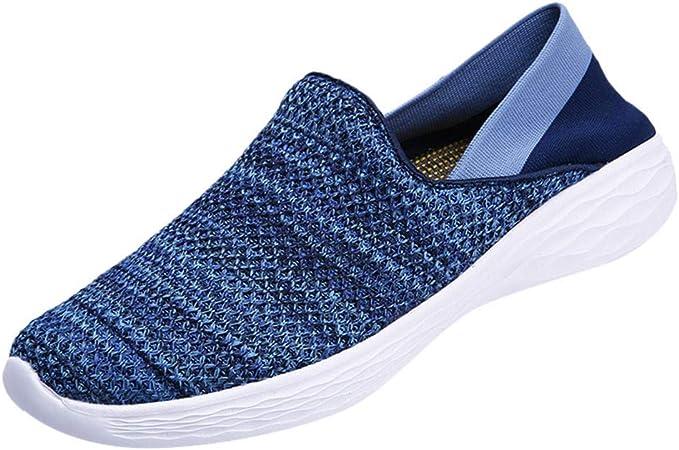 Bluestercool - Zapatos deportivos para mujer y hombre, modernos, transpirables, zapatillas de running, zapatillas de running, zapatillas de running, zapatillas de aire: Amazon.es: Instrumentos musicales