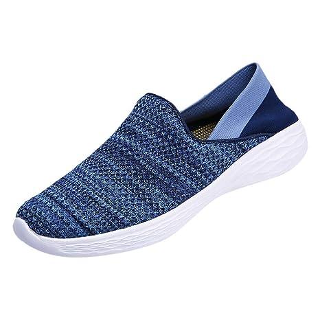 ZODOF Calzado Deportivo de Exterior de Hombre Zapatillas de Deporte Hombres Zapatos de Gimnasia para Caminar de Peso Ligero Zapatillas de Deporte Zapatos ...