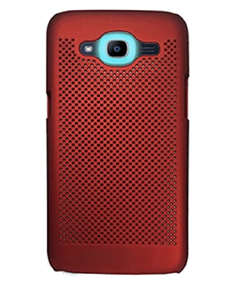 premium selection 3f97f 7f891 Samsung Galaxy J2 Back Cover by YUVEN - Red Colour: Amazon.in ...