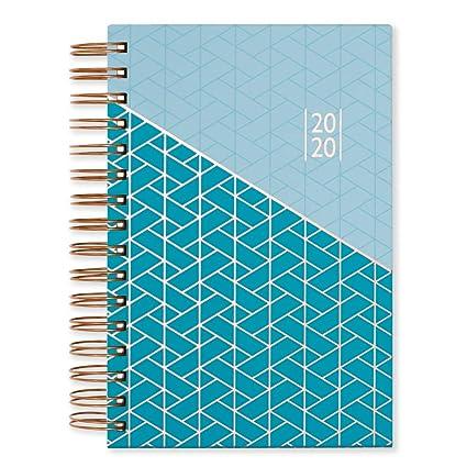 Matilda Myres 2020 - Agenda (A5, año rosa, con páginas por día), color Blue Diary A5