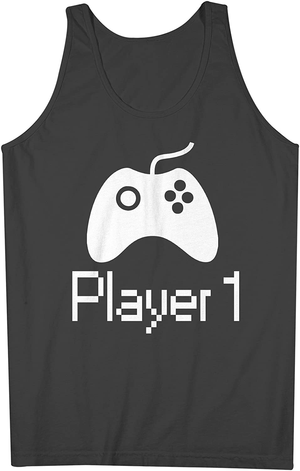 Player 1 Number Gamer Cool Console Sleeveless Xx 6014 Shirts