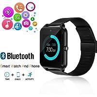 JoyGeek - Reloj inteligente con Bluetooth, teléfono con ranura para tarjeta SIM / pantalla táctil