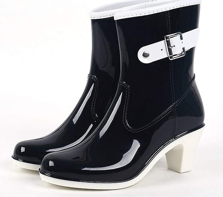 hommes / femmes des chaussures talon étanches en caoutchouc bottes à talon chaussures la cheville de bottes de pluie et bottes taille 36 - 39 botines divers produits respectueux de l'env ironneHommes  t hn 264 82en fonction 8a2f48