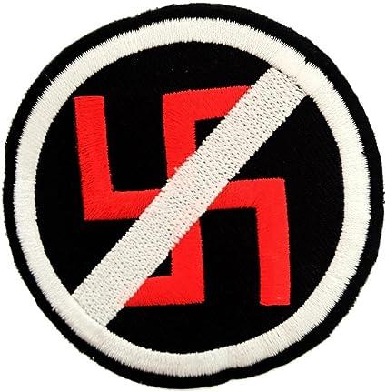 Parche insignia termoadhesivo Anti Nazi