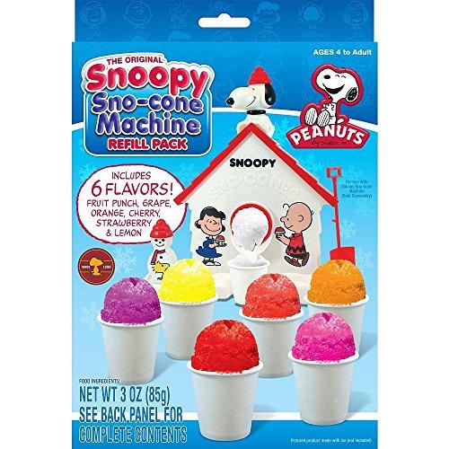 Snoopy Snow Cone Maker Refill 3