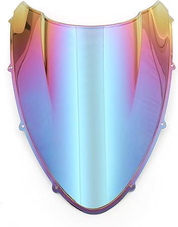 Topteng Motorrad Windschutzscheibe Sport Windschutzscheibe Mit Abs Aerodynamik Design Für Du Ca Ti 848 1098 1198 Auto