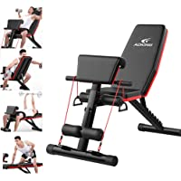 Strength Training Exercise Bench/Full Body Workout Fitness Home Gym Exercise Sports/Roman Chair Adjustable Sit Up Incline Abs Benchs Flat Fly Weight Press Fitness