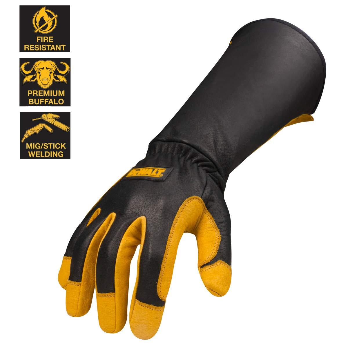DEWALT DXMF04051MD Premium Leather Welding Gloves, Medium by DEWALT (Image #4)