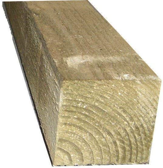 Fence Post 75mm x 75mm Gate Post Wood Fence Posts 2.4m Pack of 10