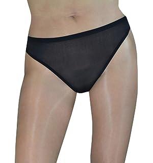 977612a0661 Lorelei Woman s Sheer Seamless Peekaboo Panty Cheeky Transparent Nylon no  Gusset