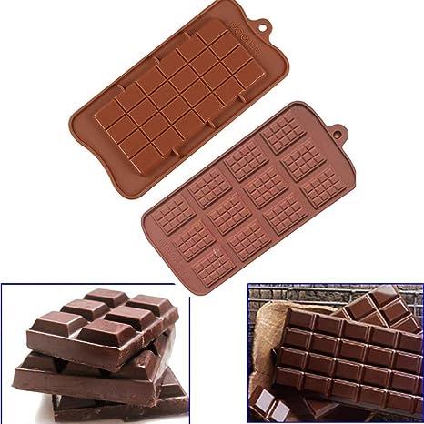 DEtrade moldes de Silicona para Chocolate para Galletas o ...