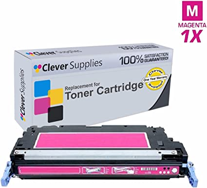 1 PK MAGENTA TONER CARTRIDGE FOR HP Q6473A COLOR LASERJET 3600 3600DN 3600N