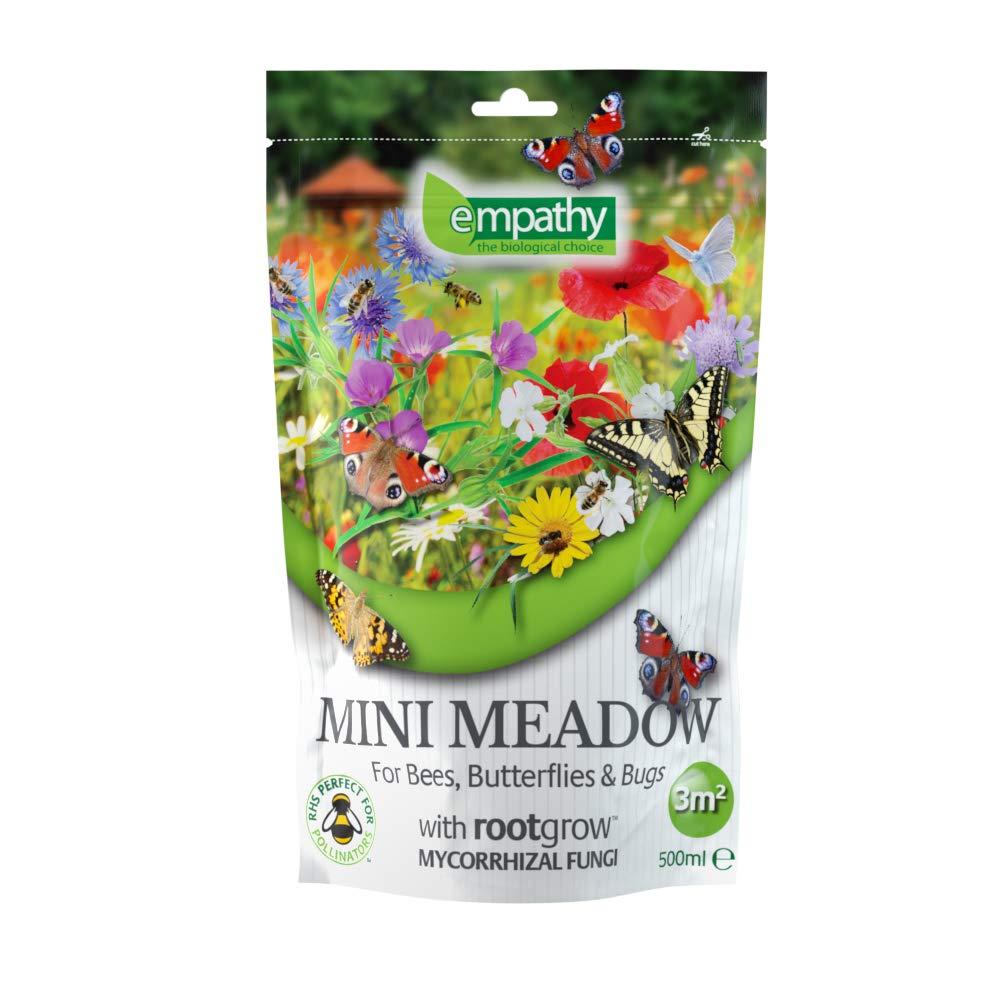 Plantworks Ltd MMRG01 Empathy Mini Meadow Easy Sow Wild Flower Seed 3m², Multi